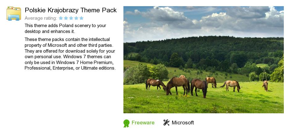 Polskie Krajobrazy Theme Pack