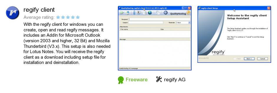 Regify client