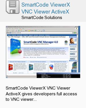 SmartCode ViewerX VNC Viewer ActiveX