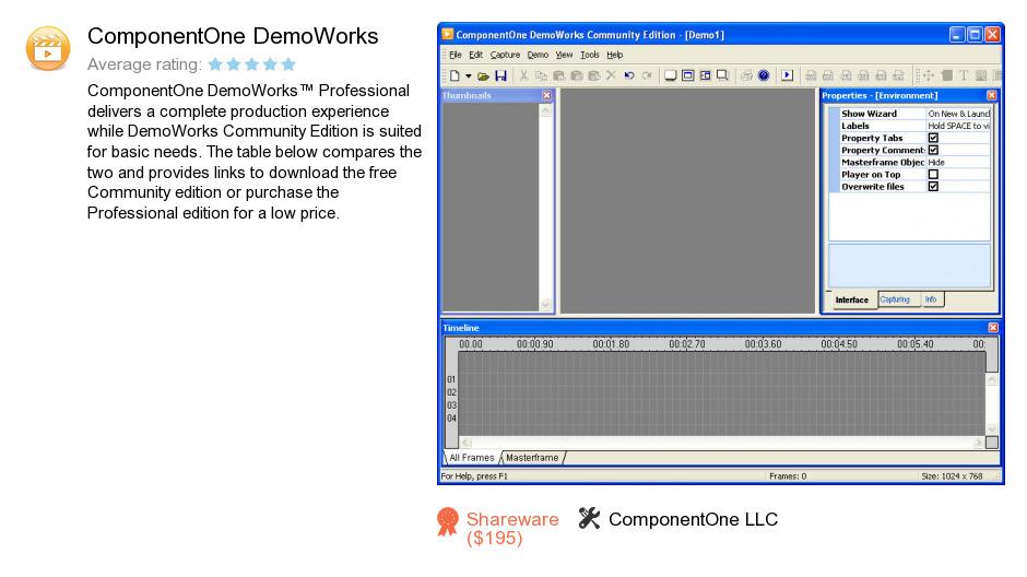 ComponentOne DemoWorks