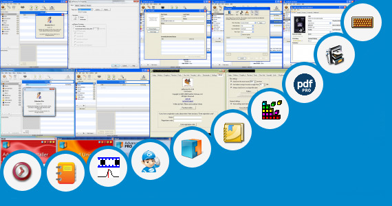 Software collection for Virtual Mat Pro Full