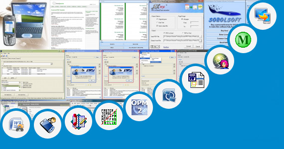Software collection for Ms Word Java Phone