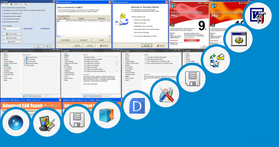 Software collection for Microsoft Windows Explorer Repair Tool