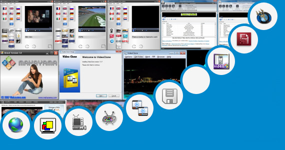 Software collection for Myanmar Skynet News Live Streaming