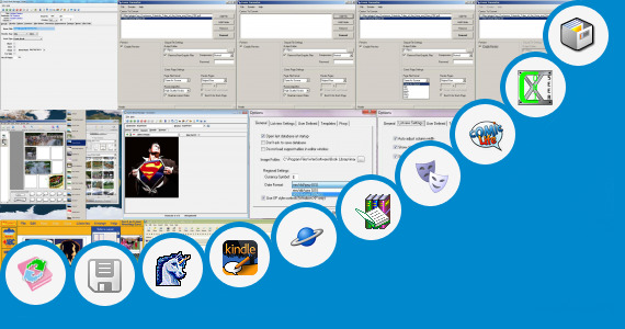 Software collection for Comic Book Software