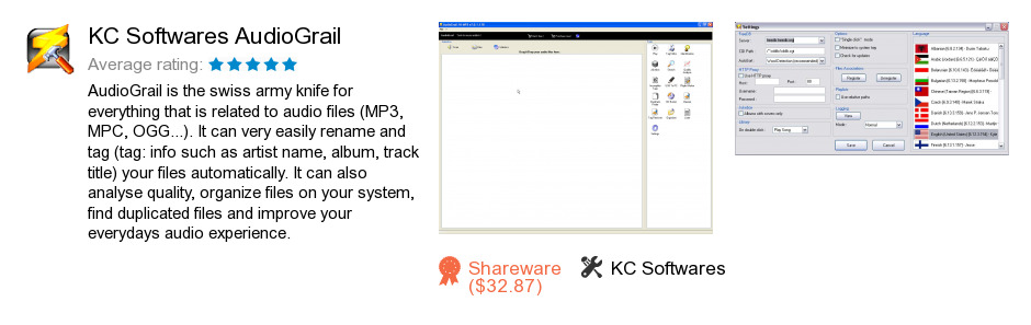 KC Softwares AudioGrail
