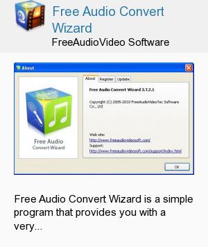 Free Audio Convert Wizard