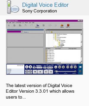 Digital Voice Editor