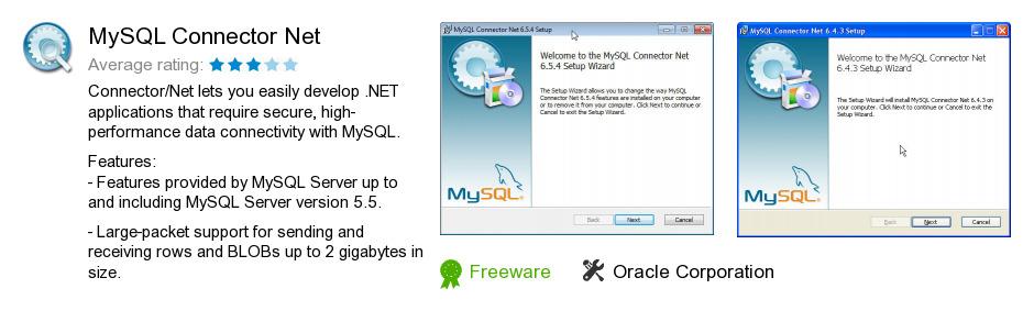 MySQL Connector Net
