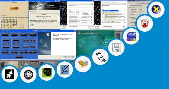 Software collection for 3ds Max 2009 Product Key