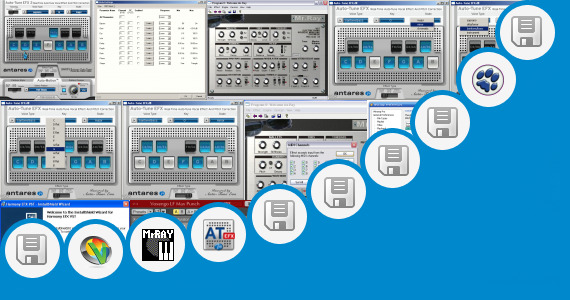 Software collection for Nuendo 4 Plugins Vst Vocal Effects