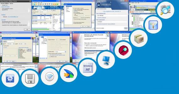 Software collection for Advanced Wireless Lan Utility Alfa