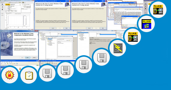 Software collection for Fluke View Forms Software