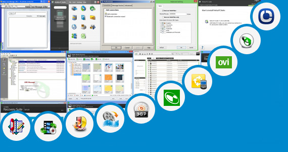 Software collection for Intex Phone Suite