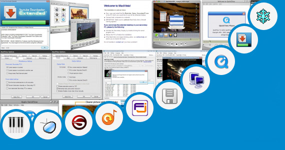 Software collection for Install Windows Extender Player