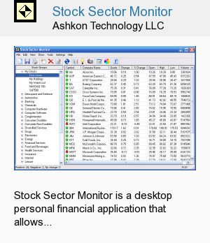 Stock Sector Monitor