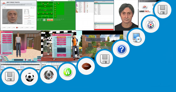 Software collection for Real Football Games For Asha 305