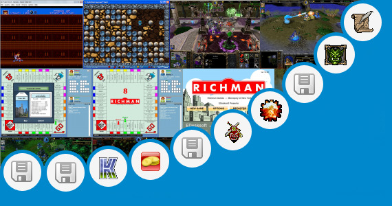 Software collection for Strategy Games Warcraft