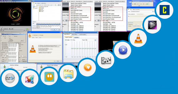 Software collection for Flex Player New Codec Pack