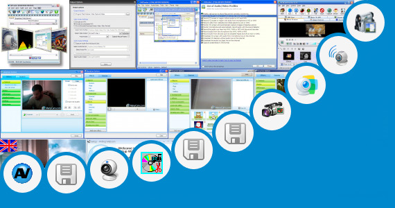 Software collection for Cam Simulator Video Broadcast