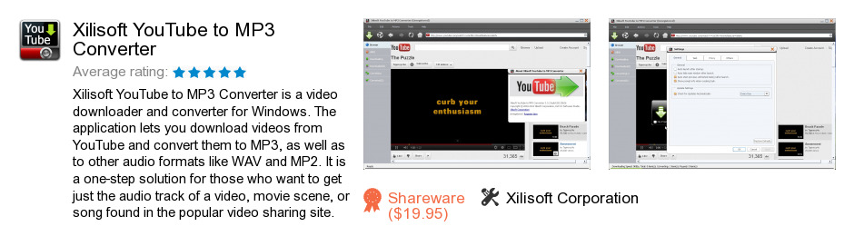 Xilisoft YouTube to MP3 Converter