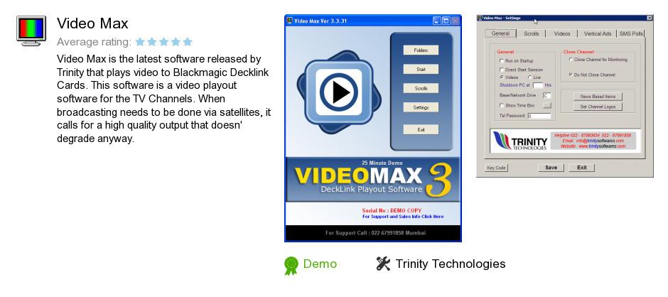 Video Max
