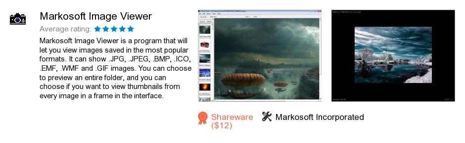 Markosoft Image Viewer