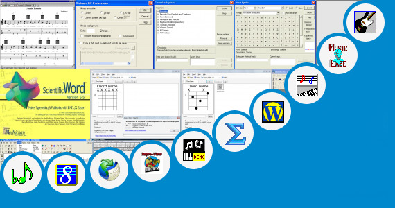 Software collection for Chord Notation In Word