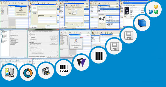 Software collection for Barcode Scanner Excel Time Tracking