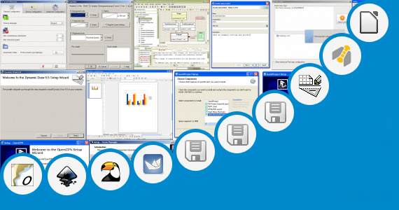 org chart software open source free ganttproject and 64 more