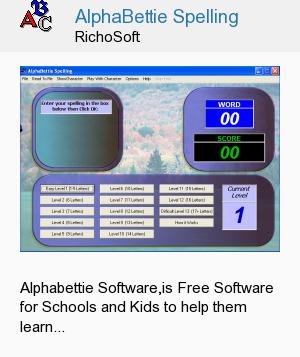 AlphaBettie Spelling