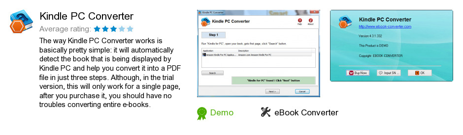Kindle PC Converter