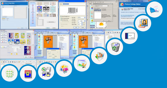 Software collection for Palm Card Maker Template