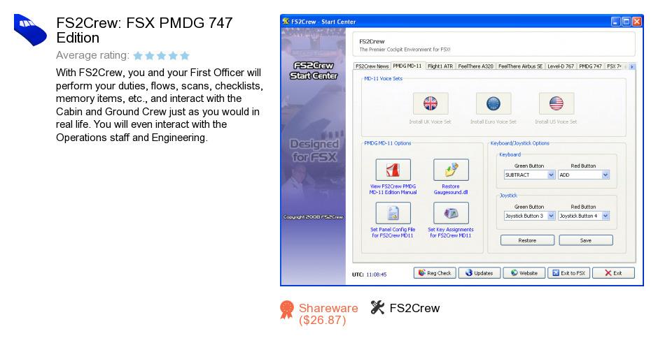 FS2Crew: FSX PMDG 747 Edition