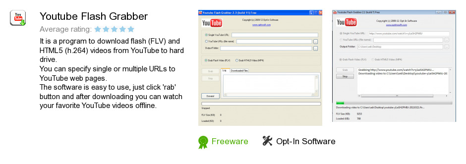 Youtube Flash Grabber