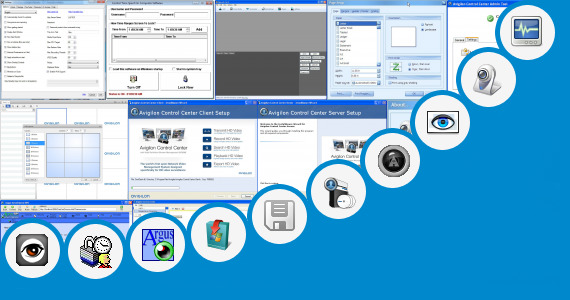Software collection for Surveillance Ctrl Control