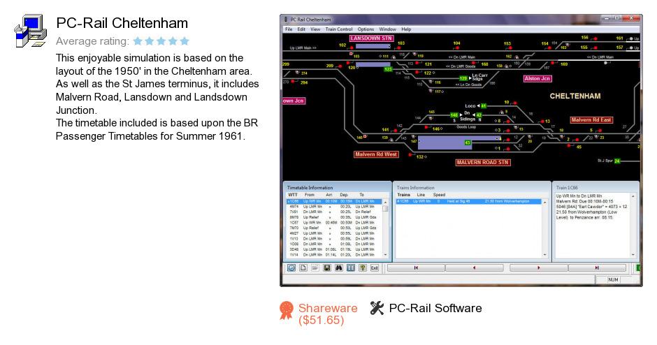 PC-Rail Cheltenham