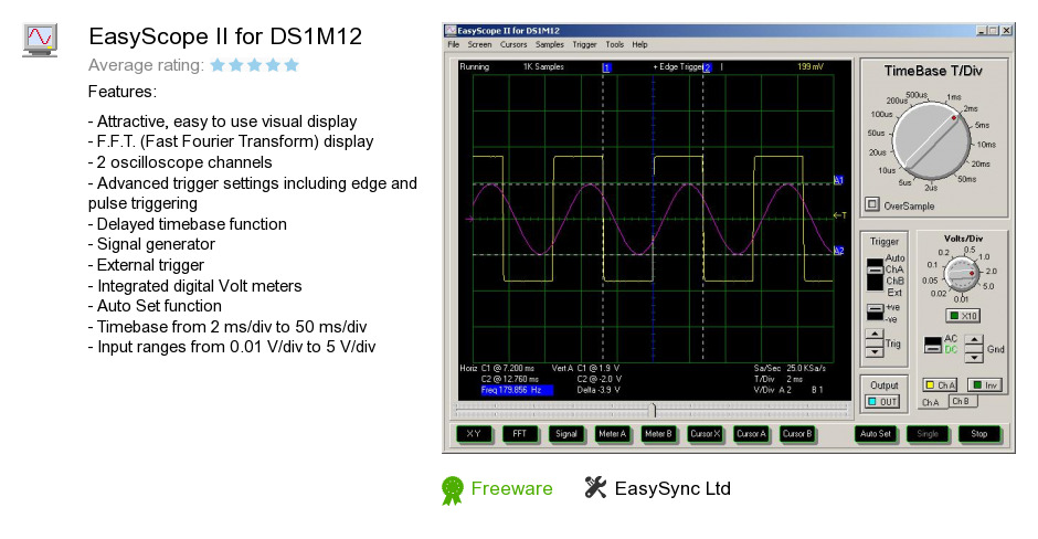EasyScope II for DS1M12
