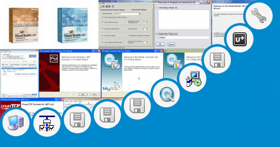 Software collection for Ridip Net Calling Software