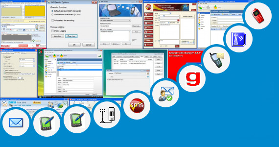 Software collection for Sms Sender For Cdma