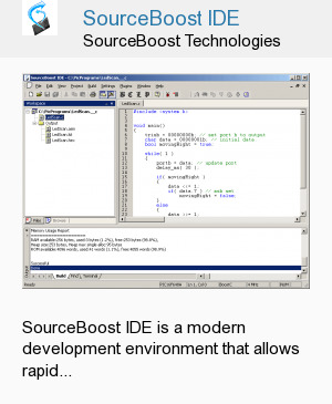 SourceBoost IDE