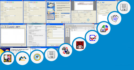 Software collection for Sabre Print Module