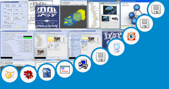 Software collection for Stp 3d Viewer Portable