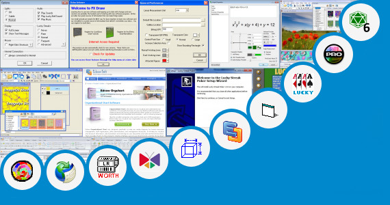 Software collection for Sample Lucky Draw Coupon Design