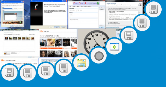 Software collection for Windows 7 Themes One Direction Band