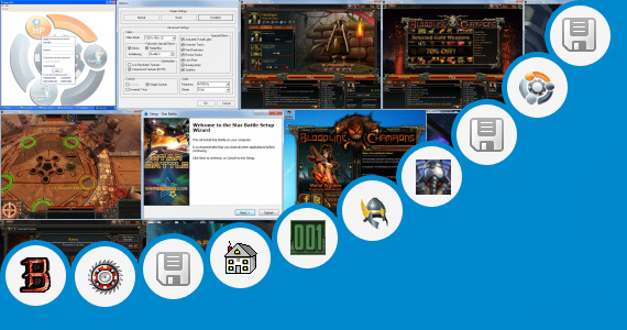 Software collection for Custom Hud Dota 2