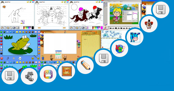 Software collection for Children Park Drawing With Children