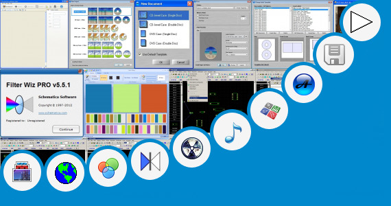 Software collection for Concert Stage Design Software