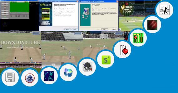 Software collection for Offline Cricket Game