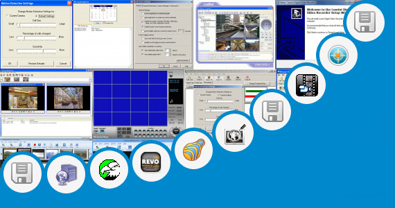 Software collection for Pss Pro Surveillance System Dvr